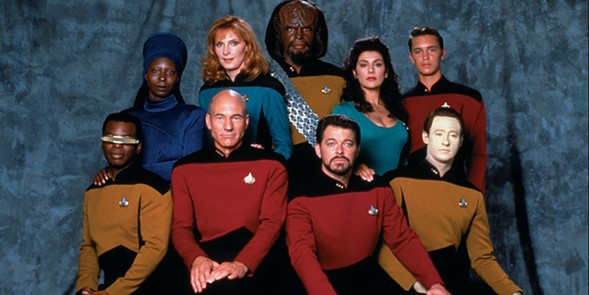 The cast of Star Trek: The Next Generation - NERDIST