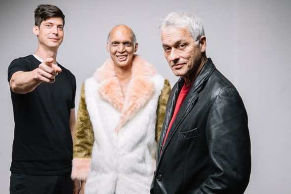 Ceramic Dog: Ches Smith, Shahzad Ismaily, Marc Ribot - EBRU YILDIZ