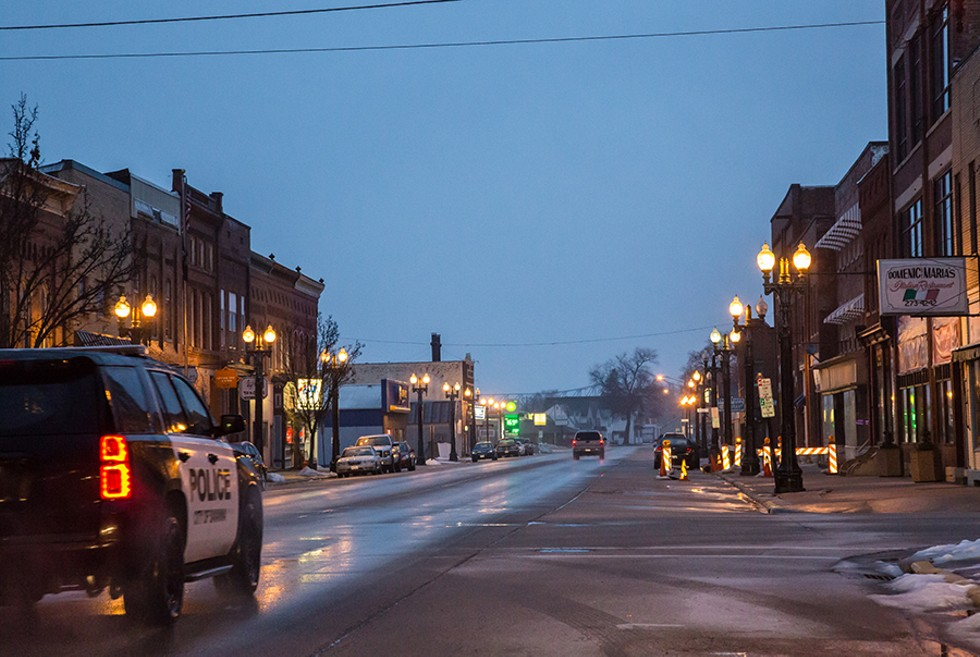 U.S. Route 64 drops you into Main Street in downtown Savanna, Illinois. - TONY WEBSTER