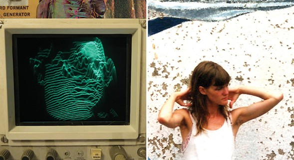 Andy Ortmann (left) and Taralie Peterson - BOTH IMAGES COURTESY THE ARTIST