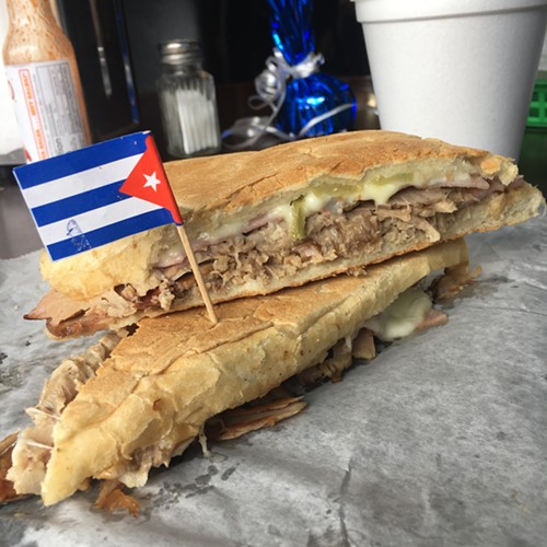 The Cubano at Bia's Cafe Marianao - MIKE SULA