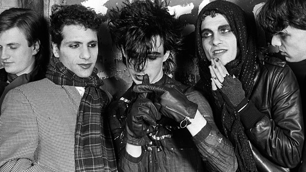 Ministry, the premiere act on Wax Trax! Records, in its 80s heyday.