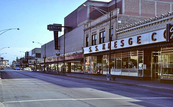 The Ave in its heyday - DR. GENE OSSELLO