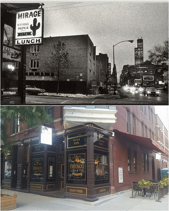 The legendary Mirage Tavern and its successor, the Brehon Pub - SUN-TIMES/COURTESY BREHON PUB