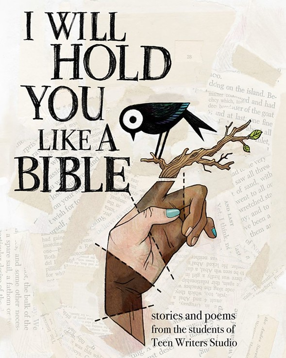 The cover art of I Will Hold You Like a Bible - KRIS EASLER