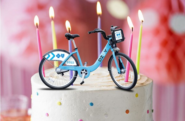 Divvy turns five this month. - RYAN SMITH