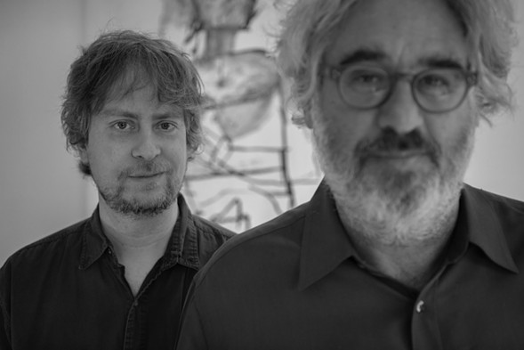 Matt Mitchell and Tim Berne - ROBERT LEWIS