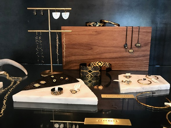 A selection of jewelry from Acanthus, Sarah McGuire, and Atelier Narcé - ISA GIALLORENZO