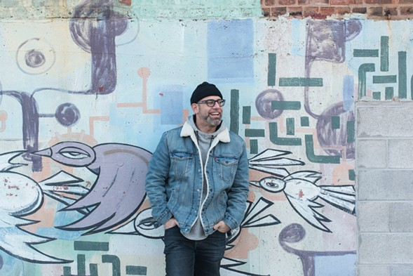 Poet and author Kevin Coval is one of two artists on the B side of VFAC 004, along with R&B singer Tasha. - ARIS THEOTOKATOS