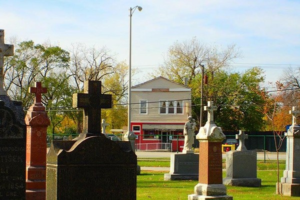 Chet's Melody Lounge, as seen from Resurrection Cemetery - FACEBOOK/CHET'S MELODY LOUNGE