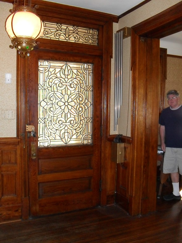There was leaded glass and woodwork throughout the house. - JUDY KOESSEL