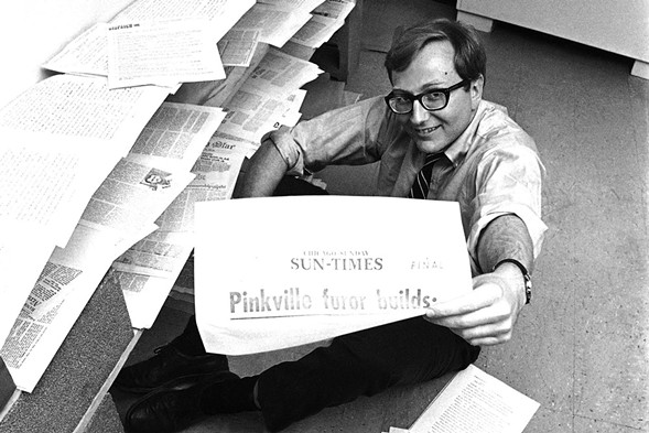 Seymour Hersh was awarded the Pulitzer Prize for international reporting in 1970. - BOB DAUGHERTY/ASSOCIATED PRESS