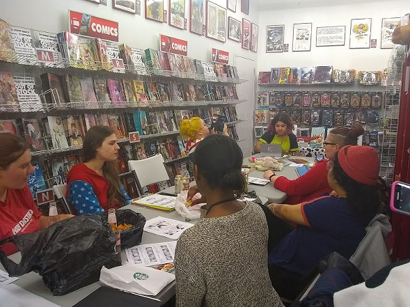 The June edition of Women's Comics Night - ANDREA THOMPSON
