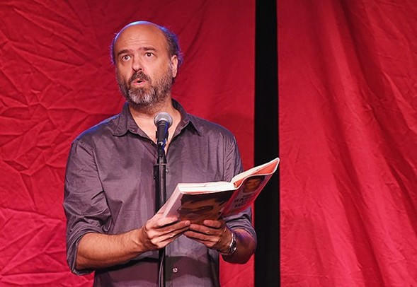 Scott Adsit improvises two shows with fellow iO alum Jet Eveleth on Wed 8/18. - GETTY IMAGES