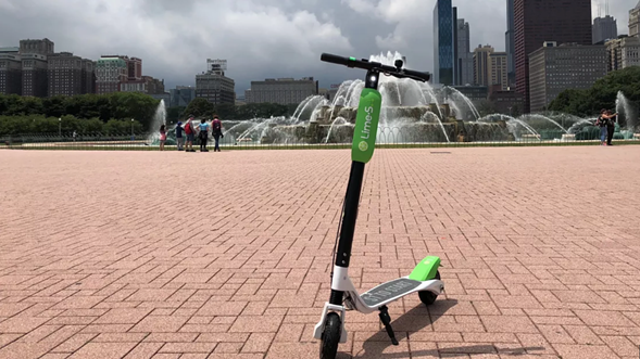 Lime's electric scooters are being tested in Chicago. Are they here to stay? - LIME