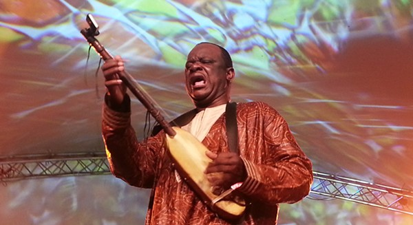 Cheick Hamala Diabate brings out  the sound of Mali in American soul music
