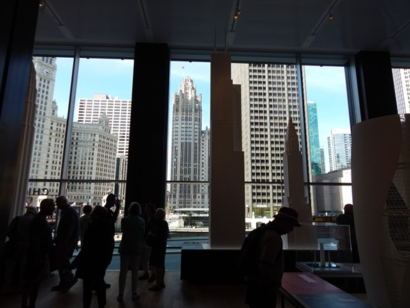 CAC's new home boasts a jaw-dropping view of Chicago architecture. - DEANNA ISAACS