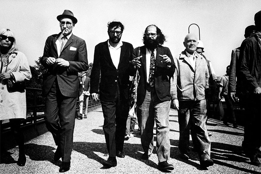 Burroughs, Terry Southern, Ginsberg, and Genet - MICHAEL COOPER
