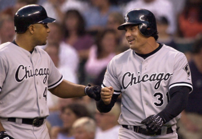 Yes, Jose Canseco was once with the White Sox too. - ELAINE THOMPSON/AP