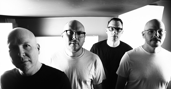 The Smoking Popes lineup on Into the Agony: Matt Caterer, Josh Caterer, Mike Felumlee, and Eli Caterer - JARET FERRATUSCO