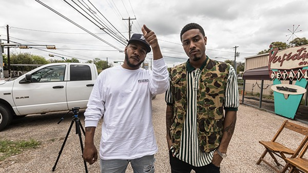 The Cool Kids: Chuck Inglish and Sir Michael Rocks - SAMUEL WALCOTT