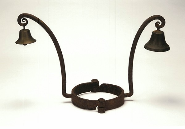 Slave collar - COURTESY HOLDEN FAMILY COLLECTIONS