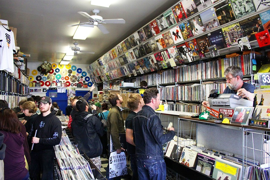 Dave's Records during Record Store Day 2010 - ROB LAMBERT
