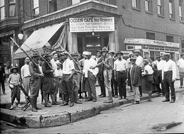 The National Guard was dispatched during the Chicago race riots of 1919. - JUN FUJITA | COURTESY CHICAGO HISTORY MUSEUM