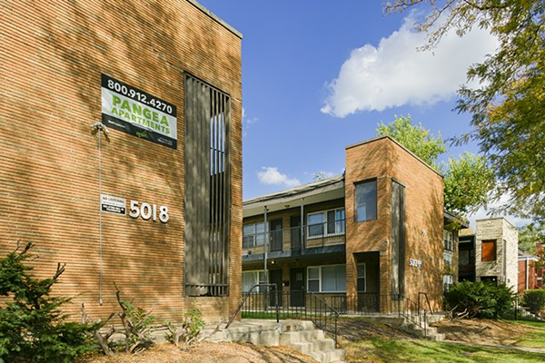 Pangea's apartment building at 5018 W. Jackson Blvd in Austin is currently owned by one of the company's LLCs—PP FIN Chicago 11. - TRAVIS ROOZÉE