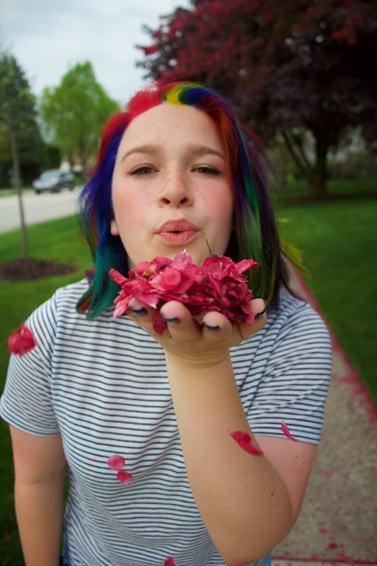 """""""I get so much more love than I get hate, so it doesn't really affect me."""" - JORDYN RUBIN"""