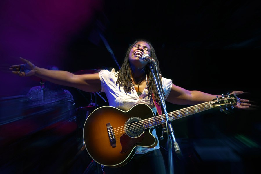 Ruthie Foster plays the Jay Pritzker Pavilion on Sunday. - RICCARDO PICCIRILLO