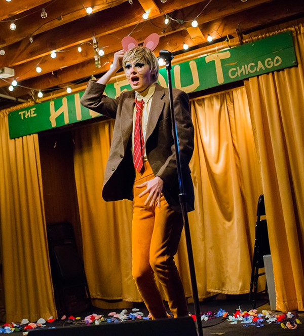 """Derry Queen's Big Queer Variety Show"" at the Hideout - SARAH LARSON"