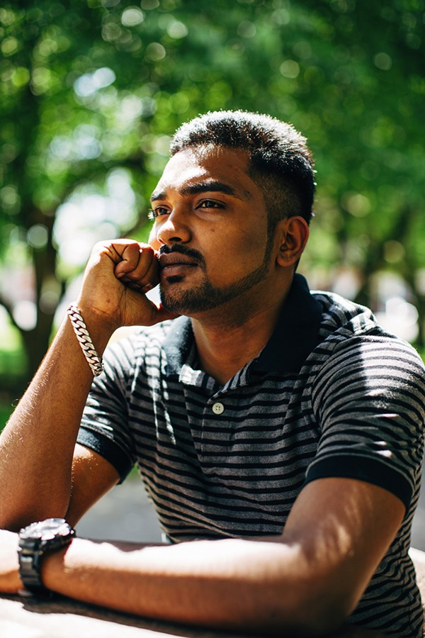 Ismail's family was among the first Rohingya to reach Chicago in 2012. - ANJALI PINTO