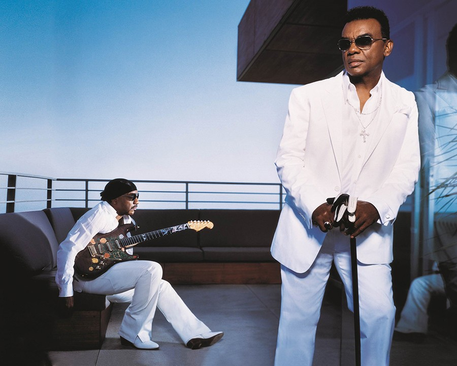 Ernie and Ron Isley, aka the Isley Brothers - COURTESY PRIMARY WAVE