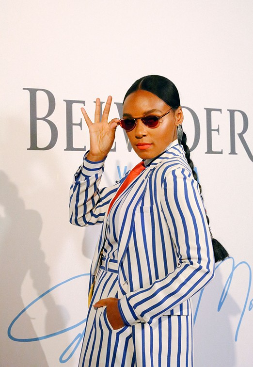 Monaé has partnered with Belvedere Vodka for the A Beautiful Future campaign. - ZAKKIYYAH NAJEEBAH