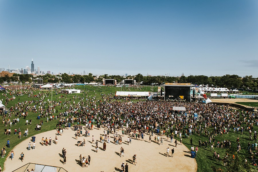Douglas Park during last year's Riot Fest - DANNY O'DONNELL