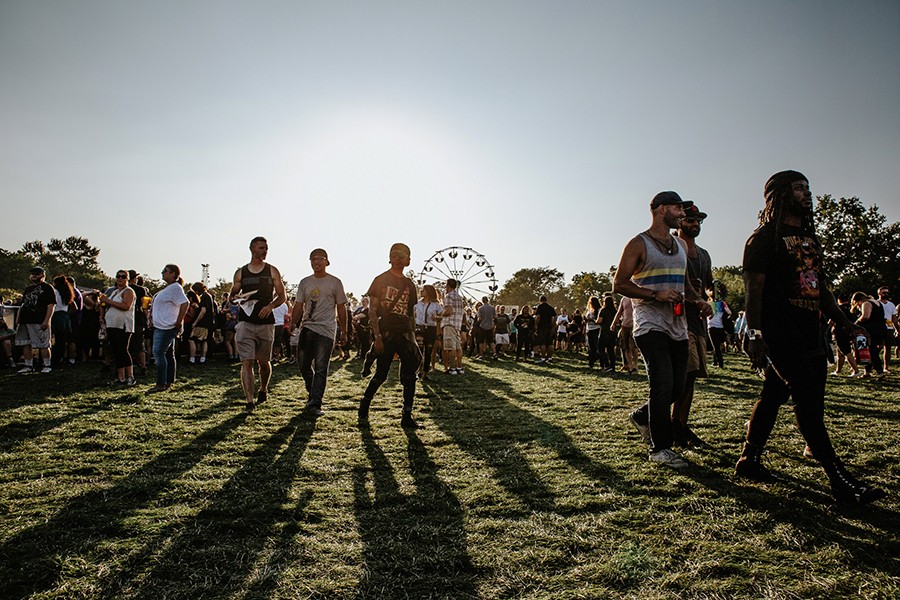 Last year's Riot Fest - DANNY O'DONNELL