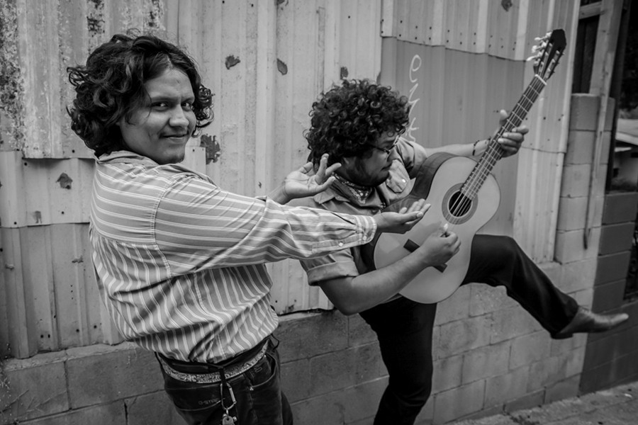 The psychedelic cumbia punk of Los Angeles group Tropa Magica is playfully subversive enough for any Riot Fest fan. - RAFAEL CARDENAS