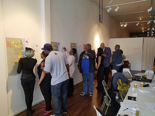 In 2017 at Reunion Chicago, the Chicago Black Social Culture Map hosted a feedback session with a focus group from the early generations of house music. - MEIDA MCNEAL