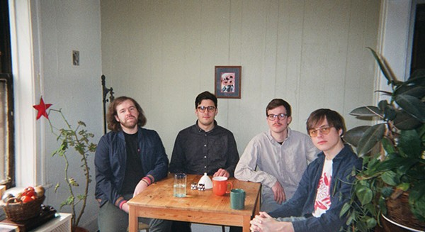 Chicago's Discus explore the outer reaches of languid indie rock on their debut album