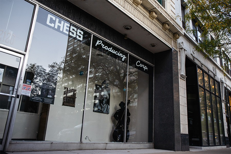 The Chess Records offices at 2120 S. Michigan, immortalized in the title of a Rolling Stones song, are now home to the Blues Heaven Foundation. The label was based here from 1956 till 1965. - PAT NABONG FOR CHICAGO READER