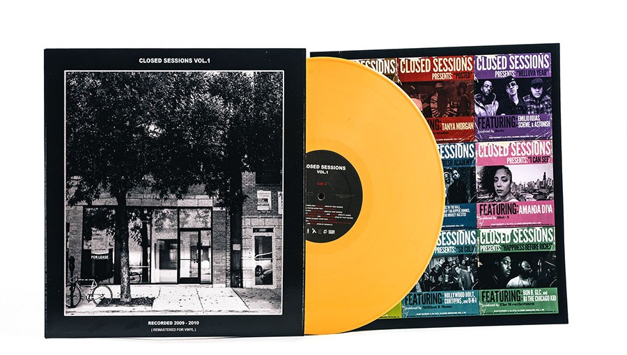 The 2010 compilation Closed Sessions Vol. 1 existed only as a download till this vinyl version arrived in April.