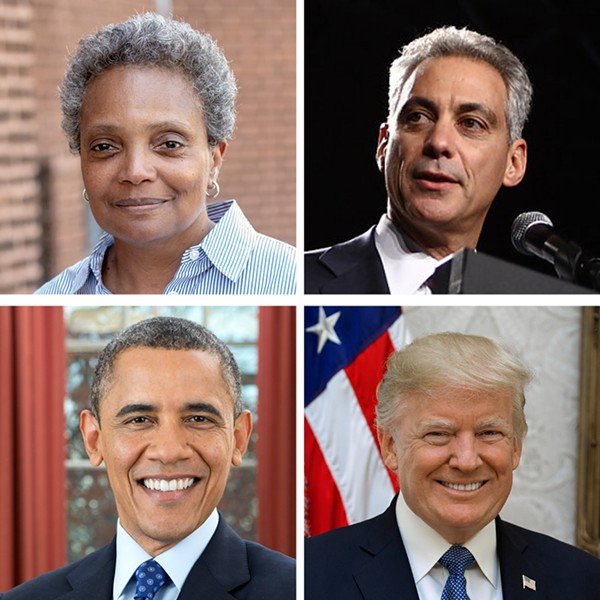 I can't decide if we're any better off politically as we stagger from the teens into the twenties. - DOUGMCGOLDRICK; IOWA DEMOCRATIC PARTY; PETE SOUZA; SHEALAH CRAIGHEAD