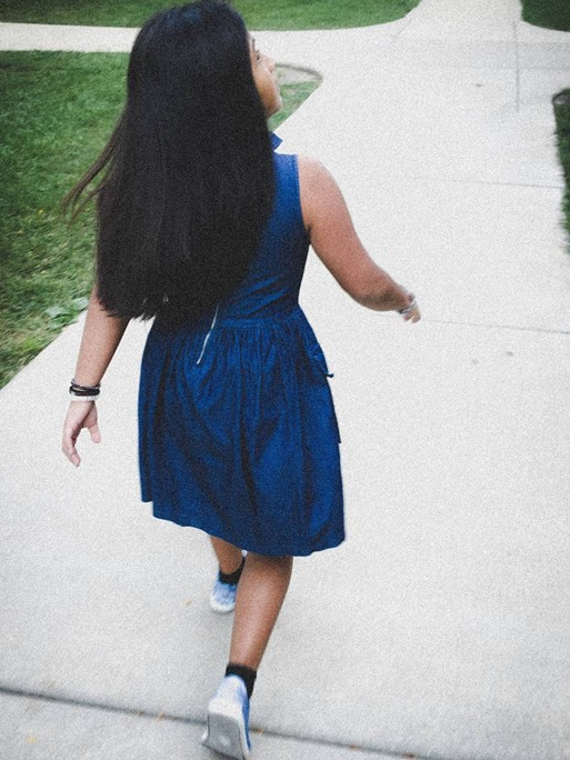 Ruiz wanted to protect her sister from the same trauma she'd experienced as a child, so she lied to her about the disappearance of their parents. - COURTESY DARIANA RUIZ