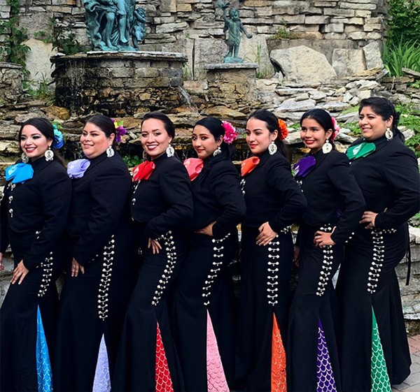 Mariachi Sirenas perform at the U. of C. Folk Festival on Saturday, February 15. - COURTESY THE ARTIST