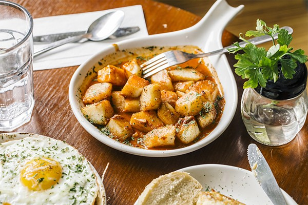 Move over, other tapas restaurants, there are new patatas bravas in town. - JEFF MARINI FOR CHICAGO READER