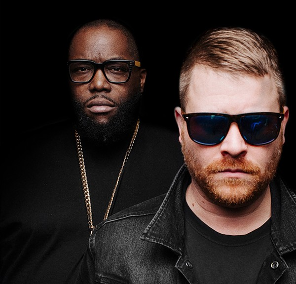 Killer Mike and El-P, aka Run the Jewels, headline the second day of the 2020 Pitchfork Music Festival. - DAN MEDHURST
