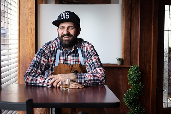Chef Bojan Milicevic moved to Chicago for the great numbers of Serbs that live here. - MATTHEW GILSON FOR CHICAGO READER