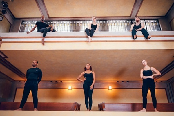 Winifred Haun & Dancers at Unity Temple - MATTHEW GREGORY HOLLIS