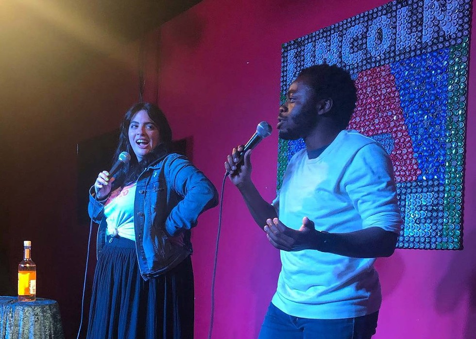 Danii Gallegos and Demi Adejuyigbe at We Still Like You at the new Lincoln Lodge. - BRIANNA WELLEN